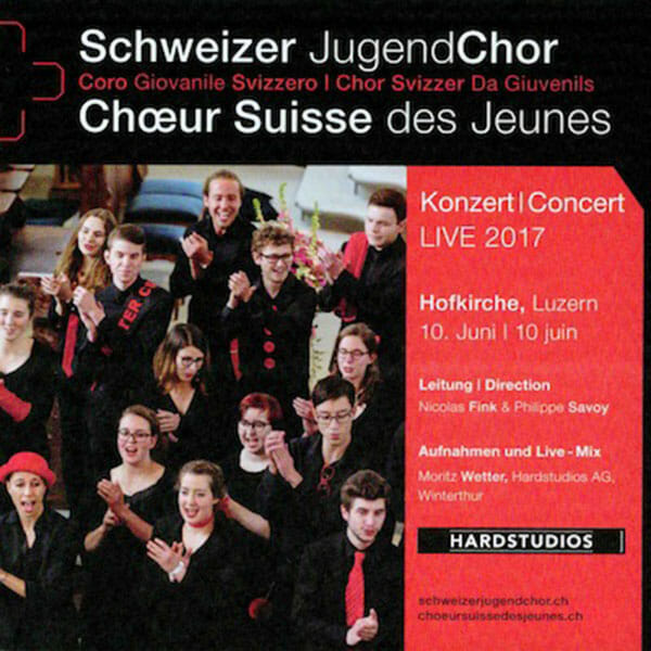 Schweizer Jugendchor – SJC Live 2017